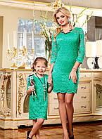 Платье Гипюр №1140,скл№2-детское!