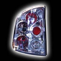 Альтернативная оптика для OPEL VECTRA C '03-, T/L, фонари задние, хром (тюнинг оптика, цена за комплект)