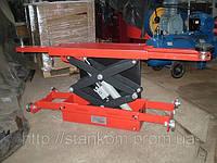 Траверса пневмогидравлическая для установки на яму или подъемник