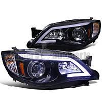 Альтернативная оптика для 2008-2011 Subaru Impreza Outback Led DRL Projector (тюнинг оптика, цена за комплект)