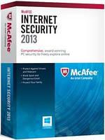 Программный продукт: Антивирус McAfee Internet Security 32/64-bit Карточка ОЕМ лицензии для 1 ПК в течение 12