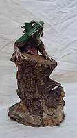 Статуэтка Варан на дереве высота 35 см