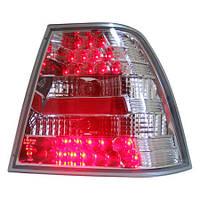 Альтернативная оптика для VW BORA '99, T/L светодиодные, JBR-LTLH (тюнинг оптика, цена за комплект)