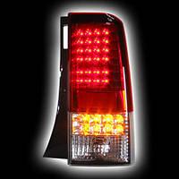Альтернативная оптика для TOYOTA BB/SCION X-B `04-`07,T/L фонари задние,светодиодные, красные/прозрачные NO (тюнинг оптика, цена за комплект)