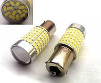 Лампа светодиодная 12V 1156 144 SMD 3014 с линзой+ драйвер 1600 Lm задний ход, стоп, поворот, подсветка салона