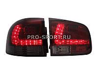 Альтернативная оптика для VW TOUAREG `02 - `07, фонари задние, светодиодные, тонированные красные (тюнинг оптика, цена за комплект)