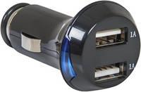 DEFENDER UCA-04 Автомобильный адаптер USB 2.0 5V 1A+1A