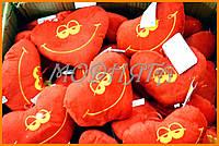 Мягкая подушка сердце 16 см - подарки к Валентину