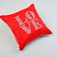 Подушка декоративная 47*47 Вышика LOVE