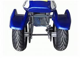Трёхколёсный детский электромотоцикл VOLTA Трайк HL-G69E синий, мотор 350W, фото 2