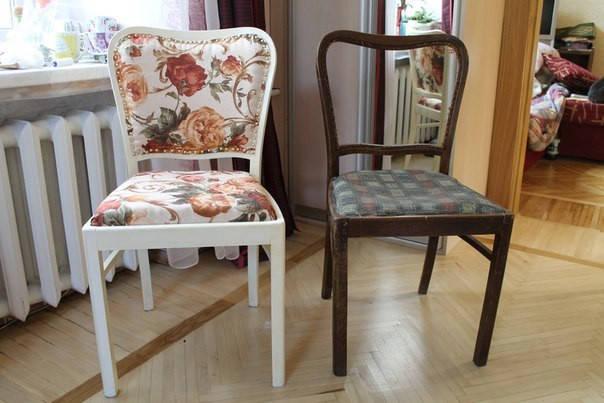 Перетяжка стульев, фото 2