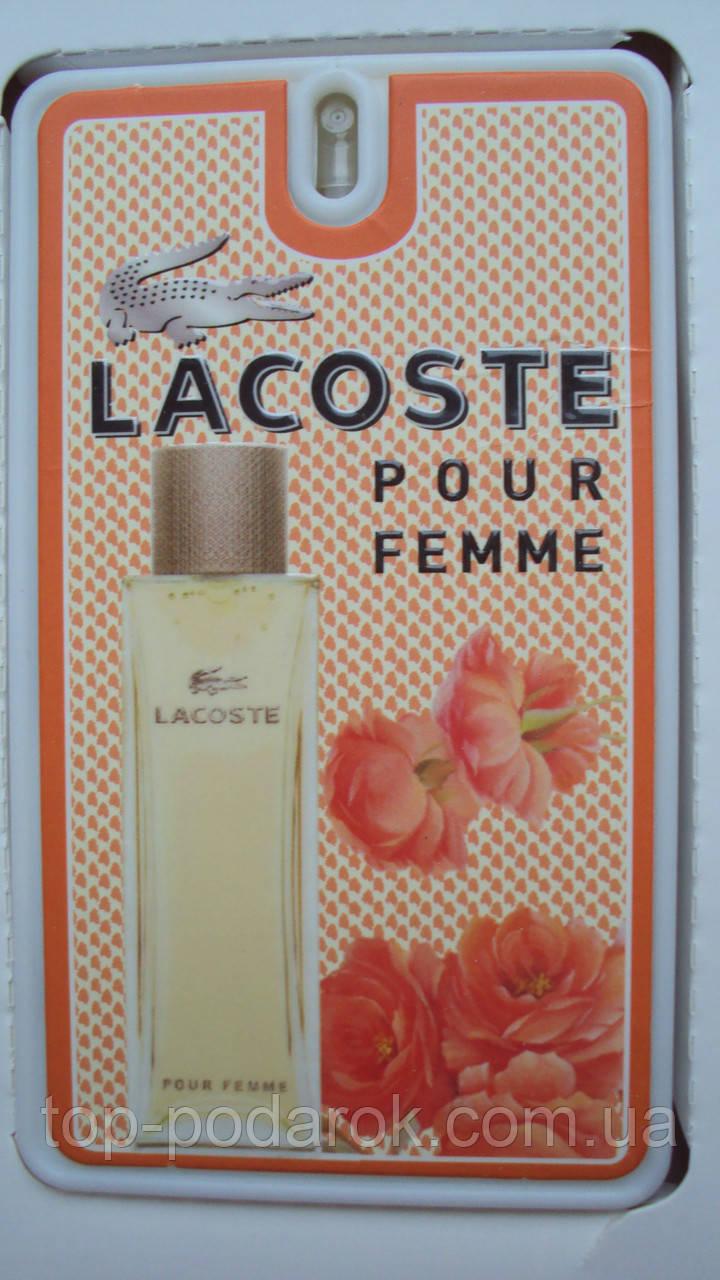 Женский мини парфюм Lacoste Pour Femme 35 мл