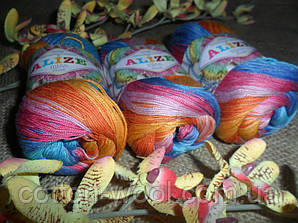 Alize Miss Batik 4536 100% мерсеризованный хлопок
