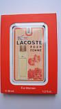 Женский мини парфюм Lacoste Pour Femme 35 мл, фото 2