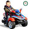 Детский Электромобиль трицикл Space 2222 желтый на радиоуправлении, фото 5