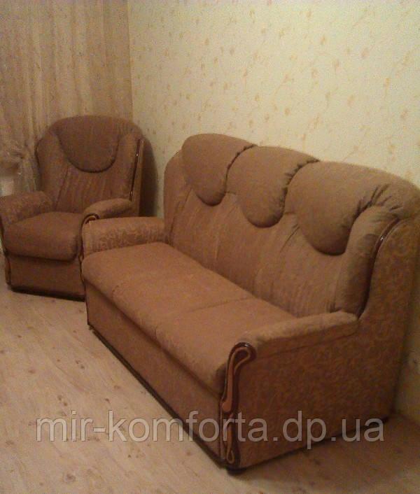 Перетяжка комплекта мебели