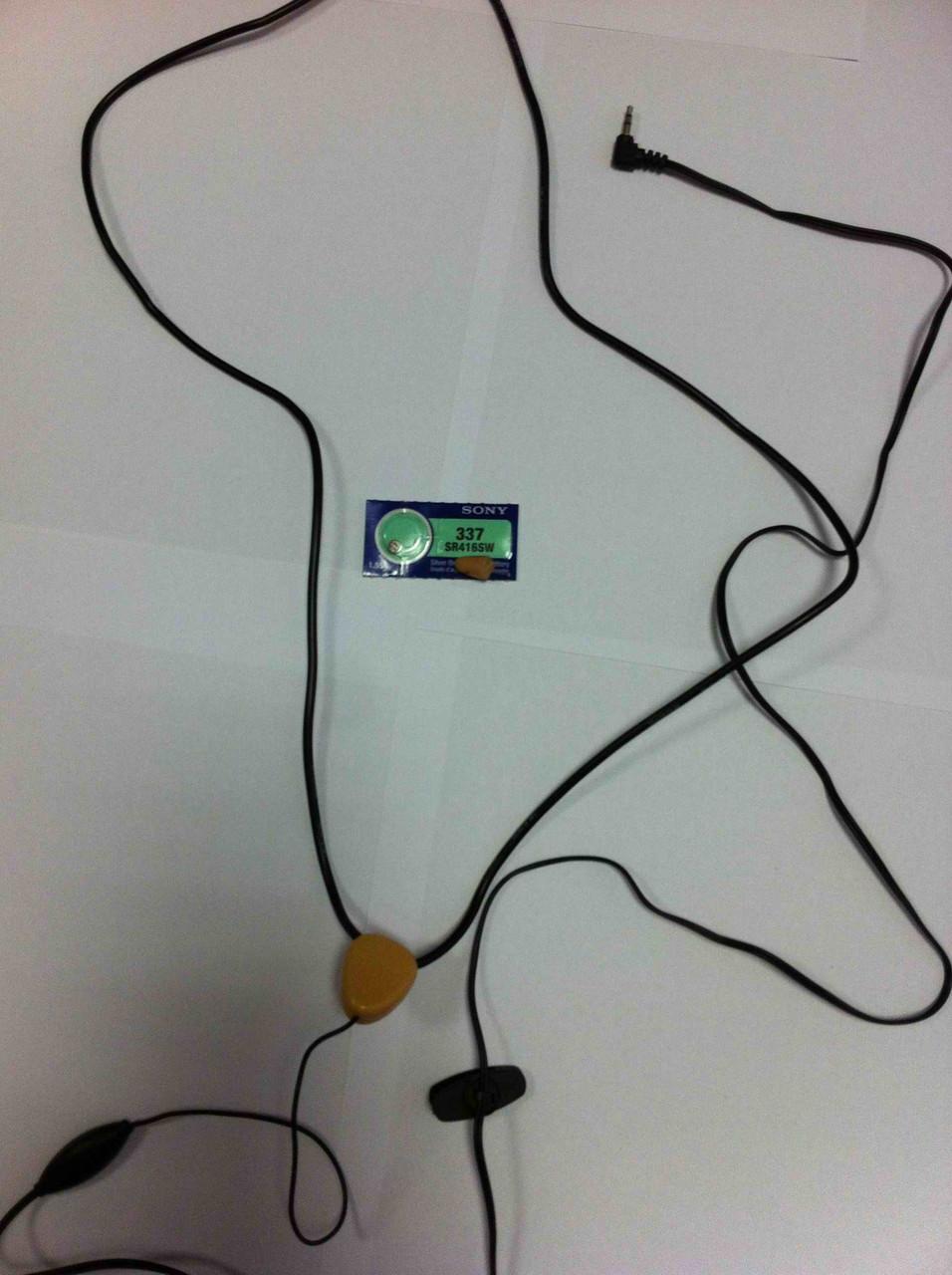 """Скрытый беспроводный микронаушник для экзаменов с проводной гарнитурой """"Элита"""" - univer-mag в Одессе"""