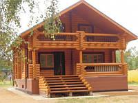 Деревянный дом под ключ (дом, баня, беседка, мангал, эксклюзивный камин), 140кв.м