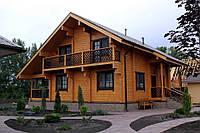 Деревянный дом 5 в 1 (дом, баня, беседка, мангал, эксклюзивный камин), 140кв.м