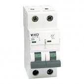 Автоматический выключатель, VIKO  10А 2(двухполюсный).