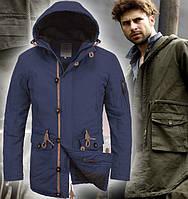Весенняя куртка парка мужская | 4006, фото 1