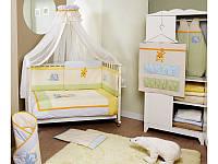 Постельный комплект в кроватку  Feretti Jungle- 6 предметов