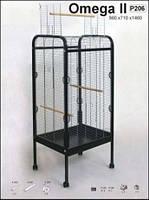 Вольер клетка для попугаев OMEGA 2 (56х71х146см) 2 прут   Inter-Zoo