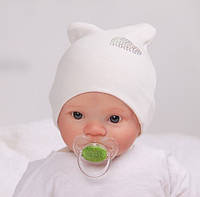 Шапочки без швов для новорожденных