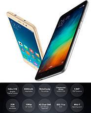 Смартфон ORIGINAL Xiaomi Redmi Note 3 2GB/16GB Silver Гарантия 1 Год!, фото 2