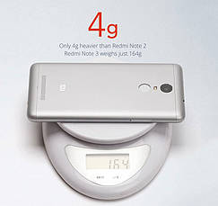 Смартфон ORIGINAL Xiaomi Redmi Note 3 2GB/16GB Silver Гарантия 1 Год!, фото 3