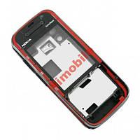 Корпус Nokia 5730 красный High Copy