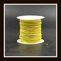 Нить-резинка в катушках (ярко-желтая)