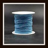 Нить-резинка в катушках (голубая)