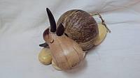 Статуэтка-копилка деревянная барашек Соня размер 20*10*13