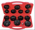 Т 75871 Набор съемников масляных фильтров   ( 14 предметов)  AmPro