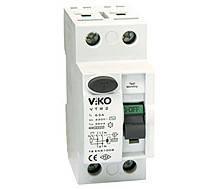 Устройство защитного отключения (УЗО), VIKO 2п 25А 30ма.