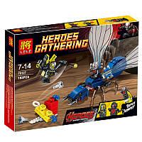 Конструктор Lele 79127 аналог LEGO Super Heroes Marvel Решающий бой человека-муравья 76039