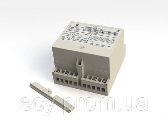 Е 843ЭС Преобразователь измерительный напряжения переменного тока, фото 2