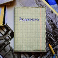 Обложка на паспорт 008