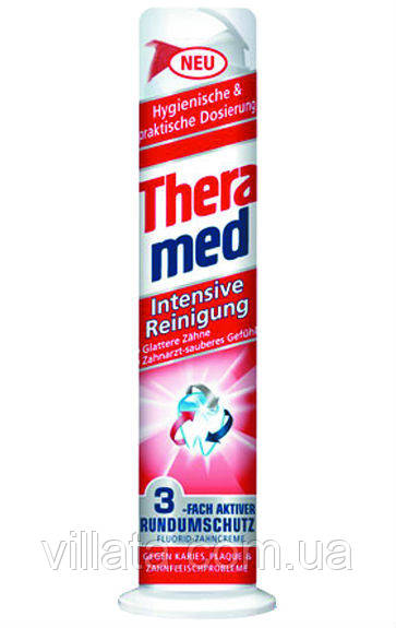 Зубная паста для интенсивной очистки зубов Theramed