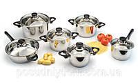 """Набор посуды ORIGINAL BergHOFF """"Vision Premium"""" 1112466 (12 предметов)"""