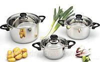 """Набор посуды ORIGINAL BergHOFF """"Vision Premium"""" 1112459 (6 предметов)"""