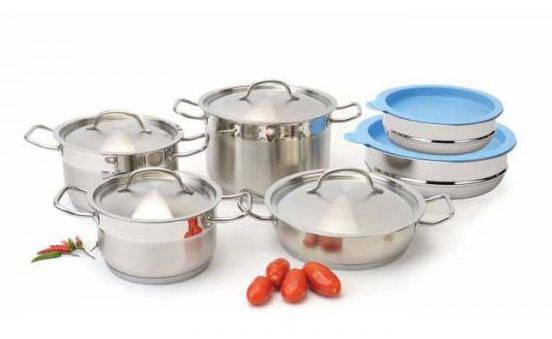 Набор посуды ORIGINAL BERGHOFF HOTEL LINE 1111003 (12 предметов), фото 2