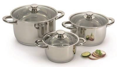 "Набор посуды ORIGINAL Berghoff ""Vision Prima"" (6 пр.) 1106010, фото 2"