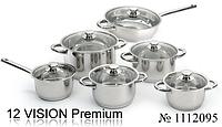 Набор посуды ORIGINAL BergHOFF Vision premium 12 пр. (1112095)