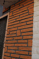 Фасадные панели с утеплителем (полифасад римская кладка)