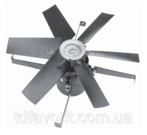 Вентилятор шахтный Deltafan 560/K/8-8/40/230