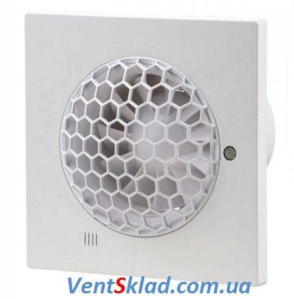 Бесшумный вентилятор в ванную до 99 м3/час Вентс 100 Квайт-С
