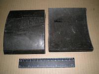 Накладки передних колодок МАЗ 4370 Зубренок