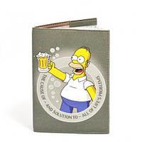 Обложка на паспорт 016